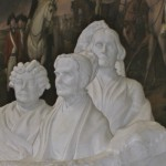 February 15th - Anniversary of Suffragist Monument, depicting Susan B. Anthony, Elizabeth Cady Stanton, and Lucretia Mott, sculpted by Adelaide Johnson, is dedicated at the U.S. Capitol